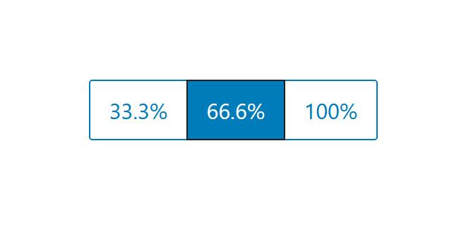 """A screenshot of the WordPress Gutenberg component """"ButtonGroup""""."""